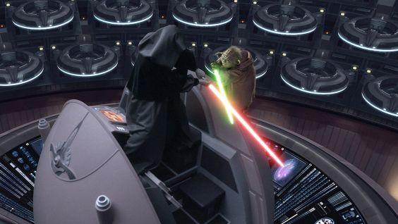 Yoda v Palpatine