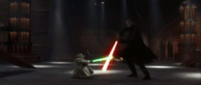 Best Lightsaber Battles: Yoda v Count Dooku