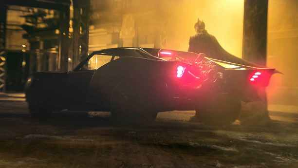 Upcoming DC superhero movie The Batman's Batmobile