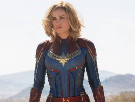Upcoming MCU superhero movie character Captain Marvel