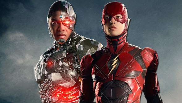 Upcoming DC movie characters Cyborg and The Flash