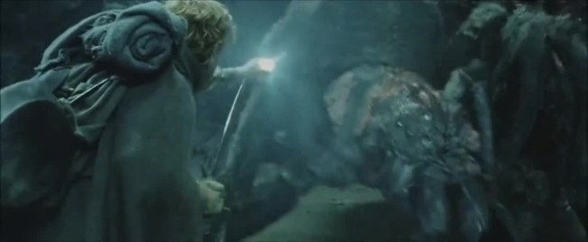 Best Lord of the Rings fights: Sam vs Shelob