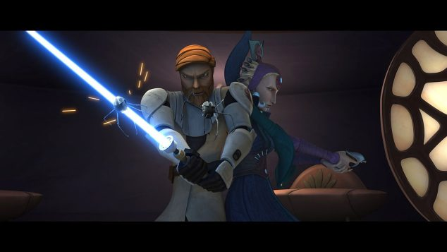 Obi-Wan Kenobi and Satine Kryze