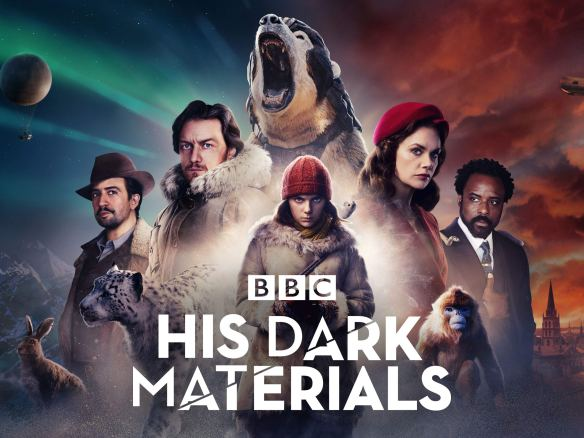 Poster for His Dark Materials television series