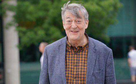 Stephen Fry, narrator of many audiobooks