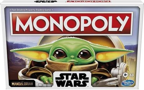 Star Wars Gift: Mandalorian Monopoly
