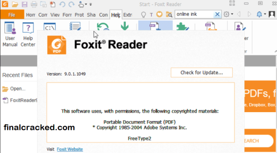 Foxit Reader Crack Free
