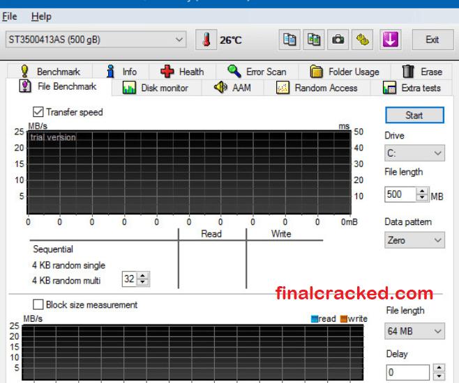 HD Tune Pro Crack Free