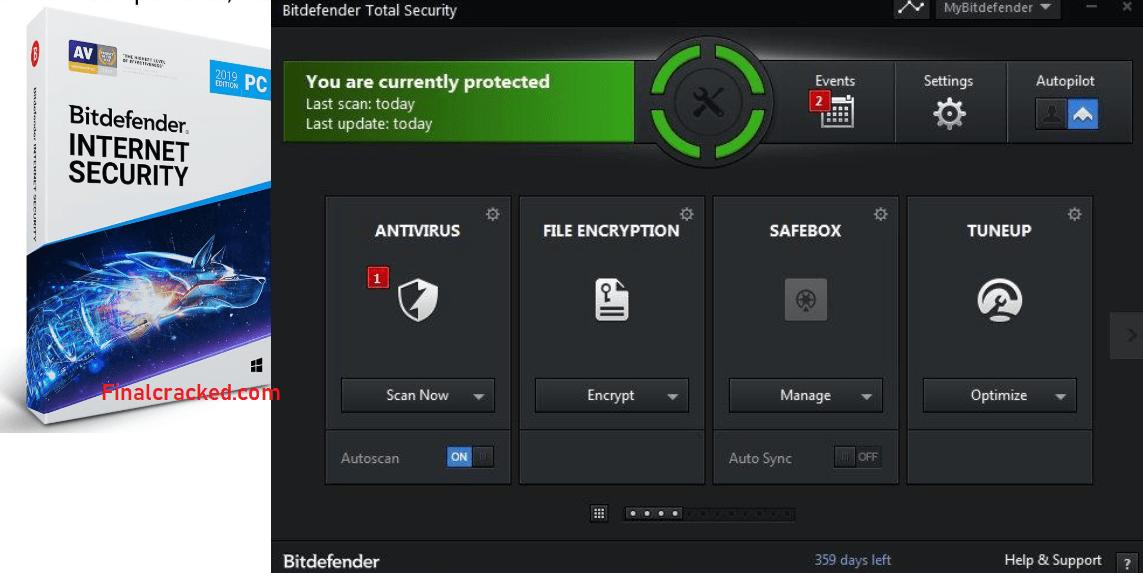 Bitdefender Total Security Crack Free