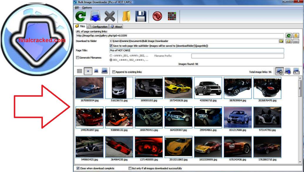 Bulk Image Downloader Crack Free