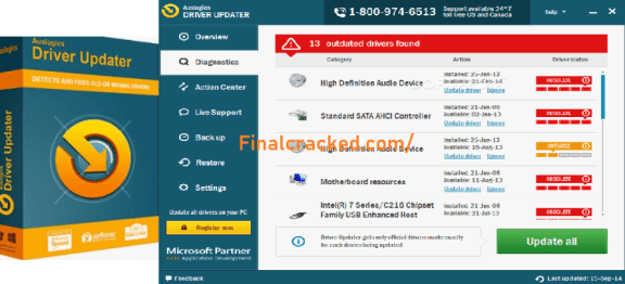 driver updater key free download