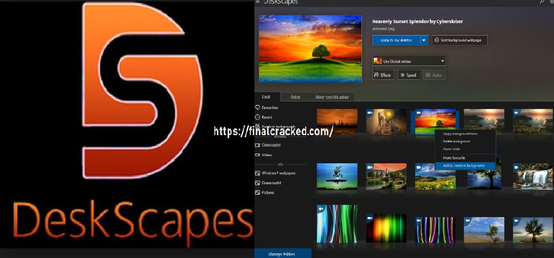DeskScapes Product Key