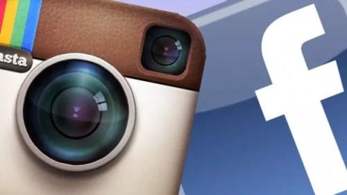 instagram e facebook