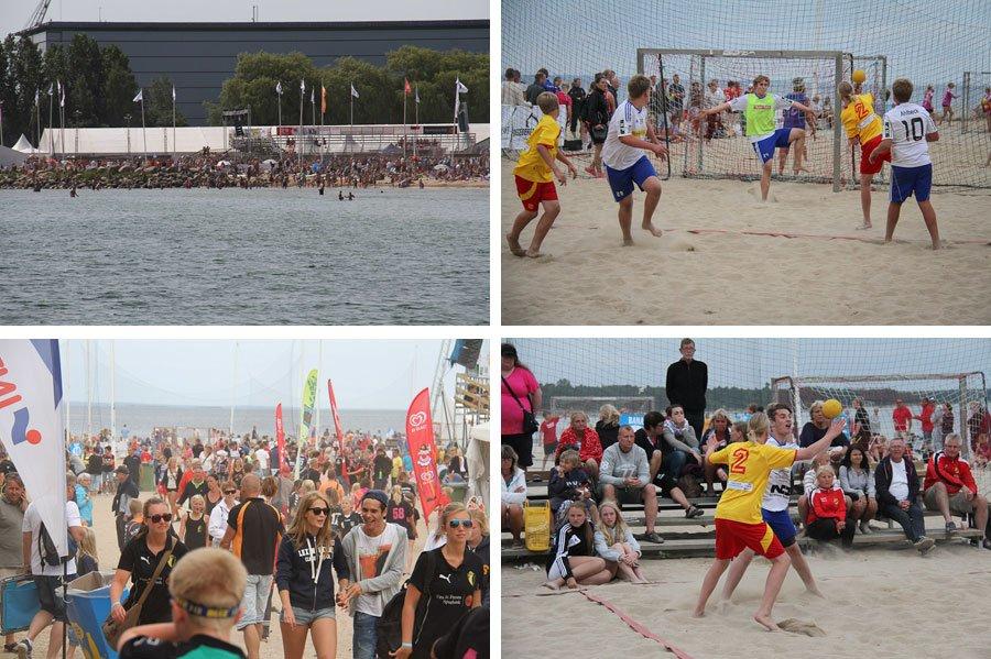 Åhus beach-handboll