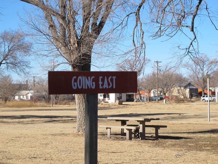 Roligt längst med Route 66