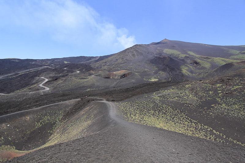 Mount Etna wiew