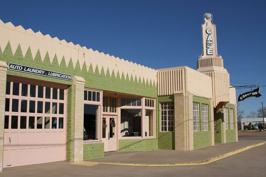 Conoco Tower - Route 66 Art Deco