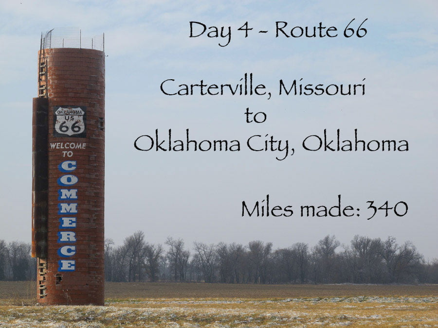 Route 66 day 4 – Carterville, Missouri - Oklahoma City