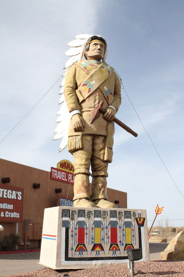 Giants along Route 66: Giant Indian