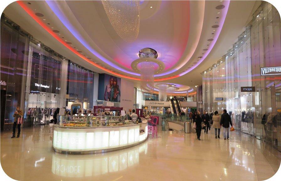 Westfield London - Shoppingcenter