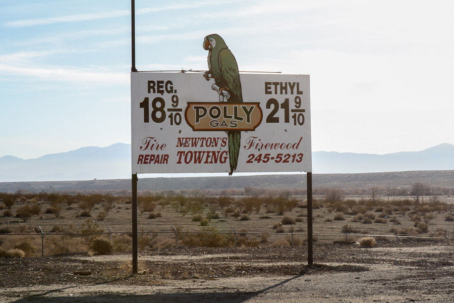 Giants along Route 66: Giant Parrot