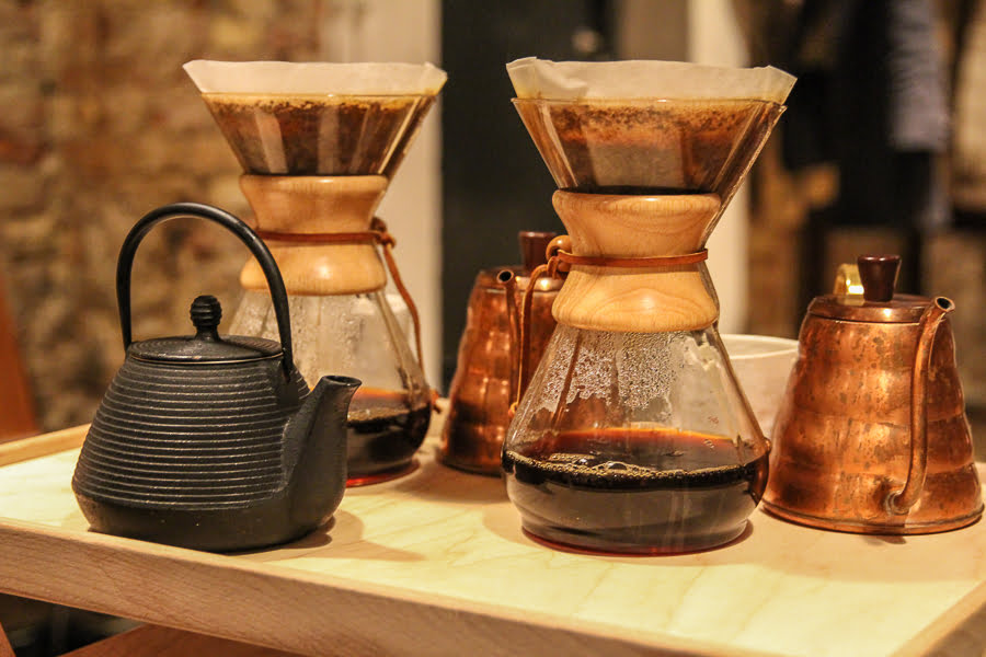 What a neat way to brew coffee! I would love to serve our friends with coffee like this.