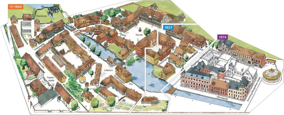 Den Gamle By Map