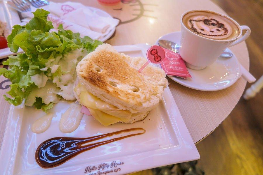 Hello Kitty Café Food