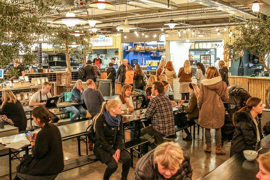 Central food market Aarhus