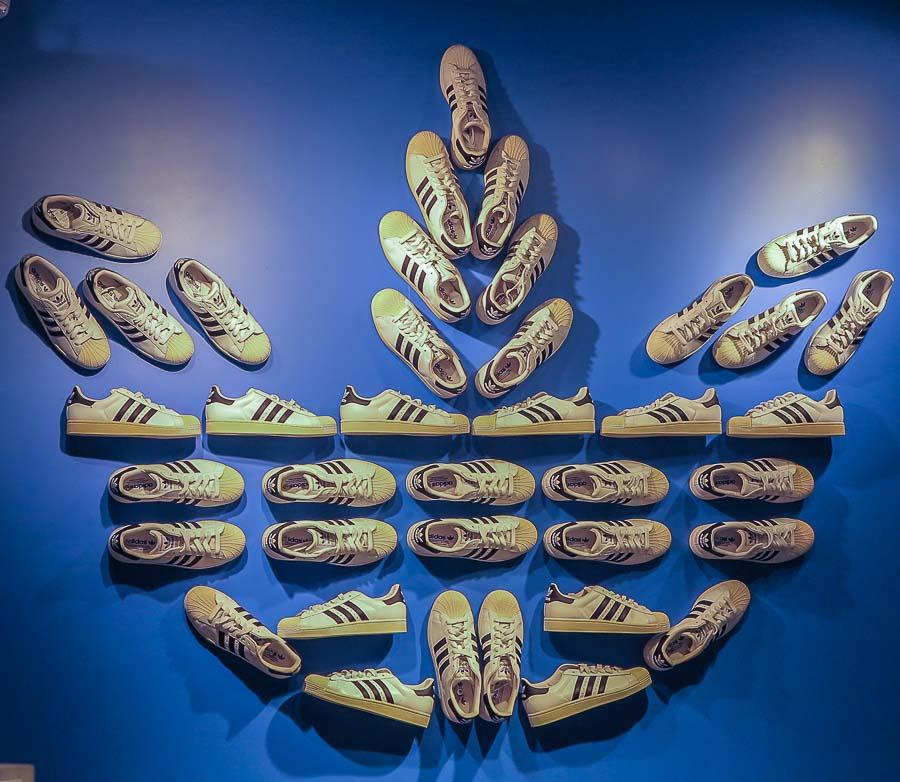 Adidas shoe art Bangkok