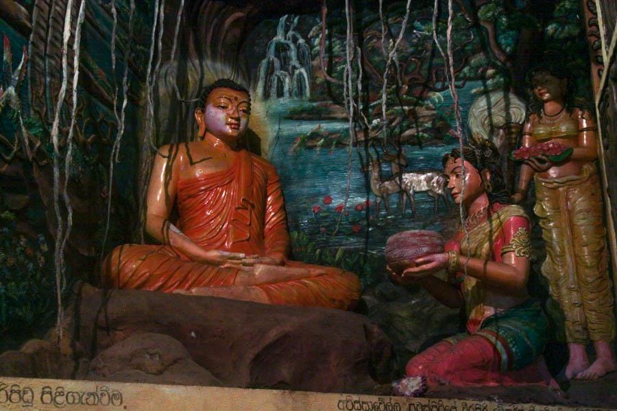 buddha in Sri Lanka