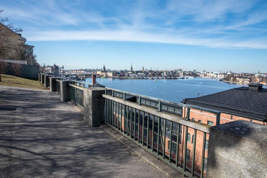 Views of Stockholm skyline