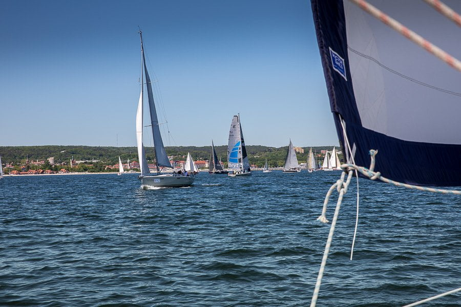 Sailing regatta Sopot Poland