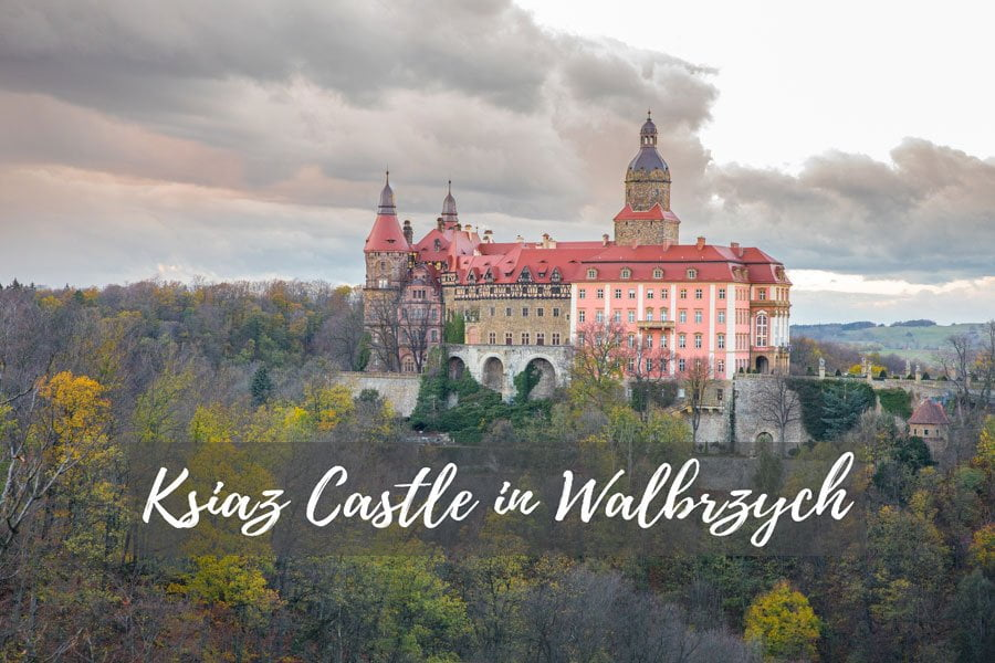Ksiaz Castle, a main attraction of Poland