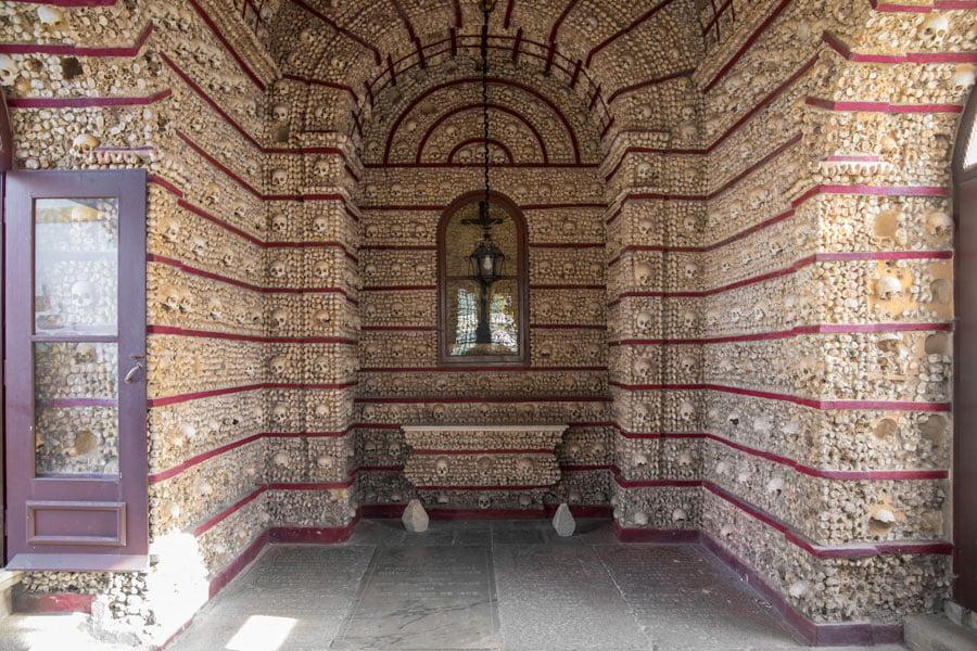 The bone chapel in Faro