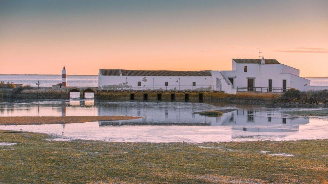 The tide mill in ria Formosa