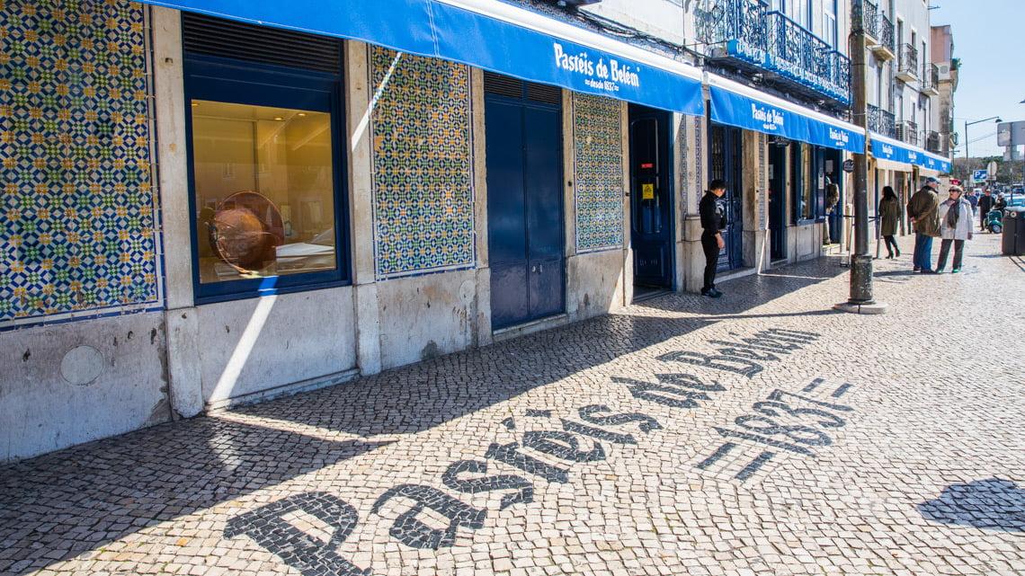 Pasteis De Belem in Lisbon, Portugal