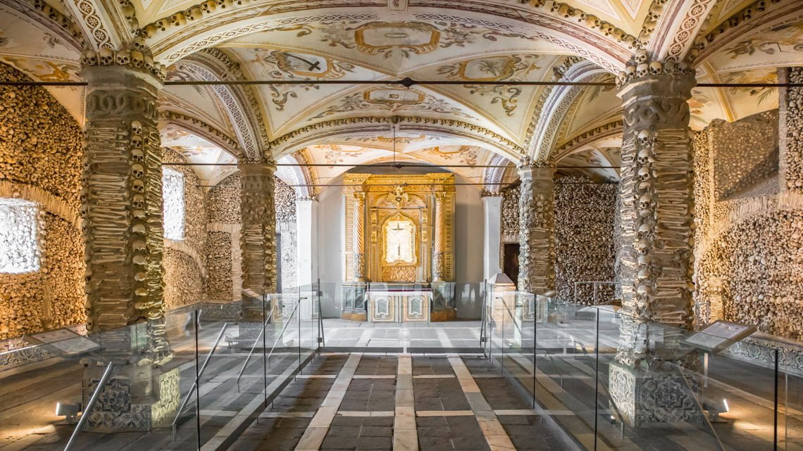 Chapel of bones Evora