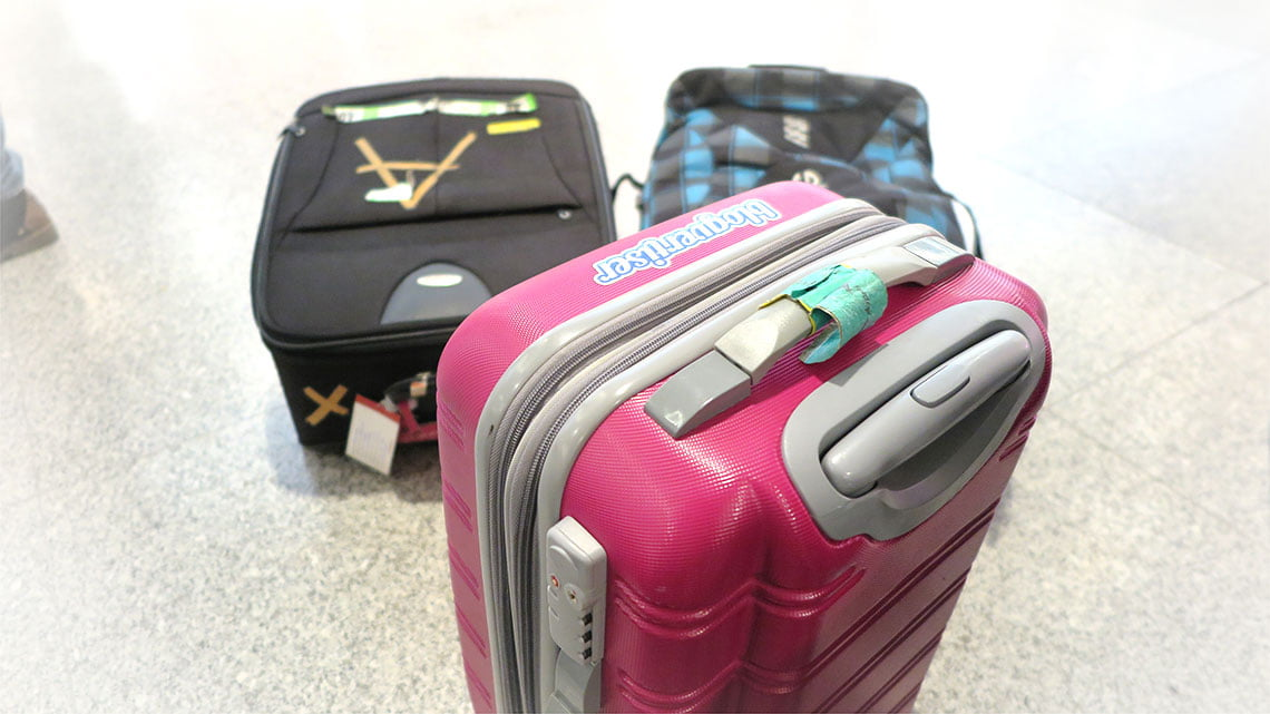 Choosing the right carry on or weekend bag