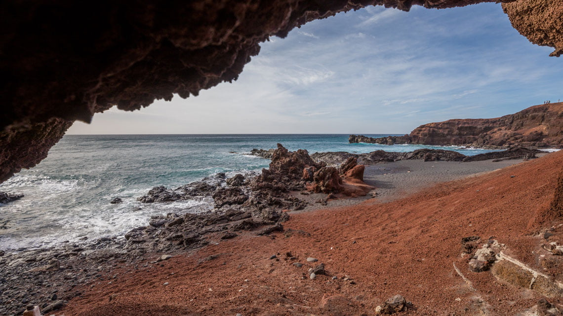 El Golfo and Los Hervideros, Lanzarote - Canary Islands