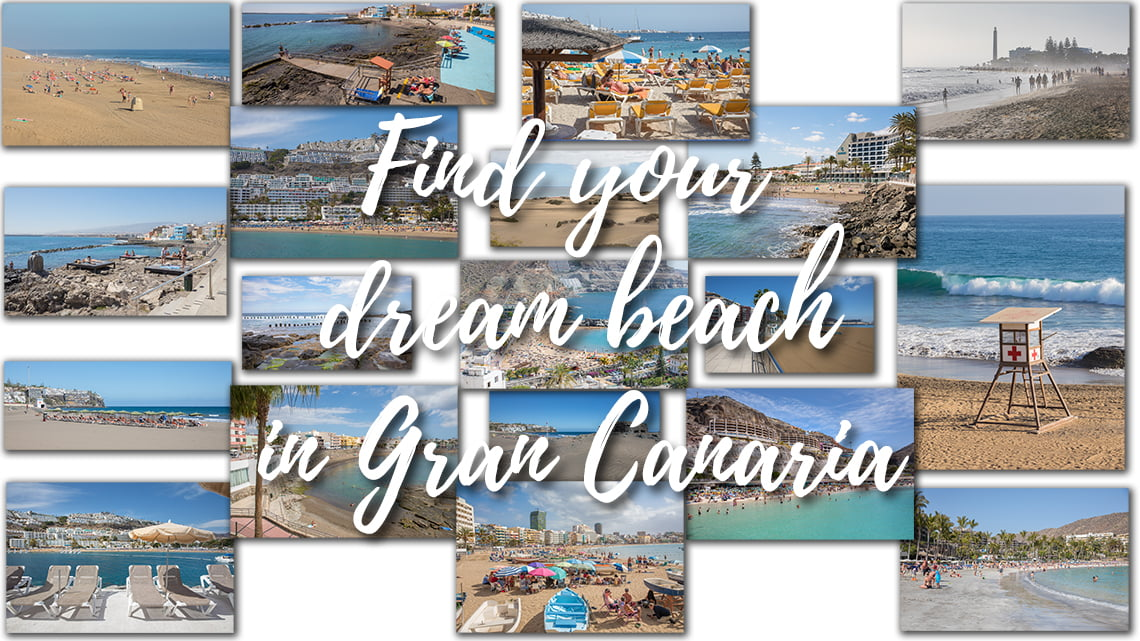 Find your dream beach in Gran Canaria