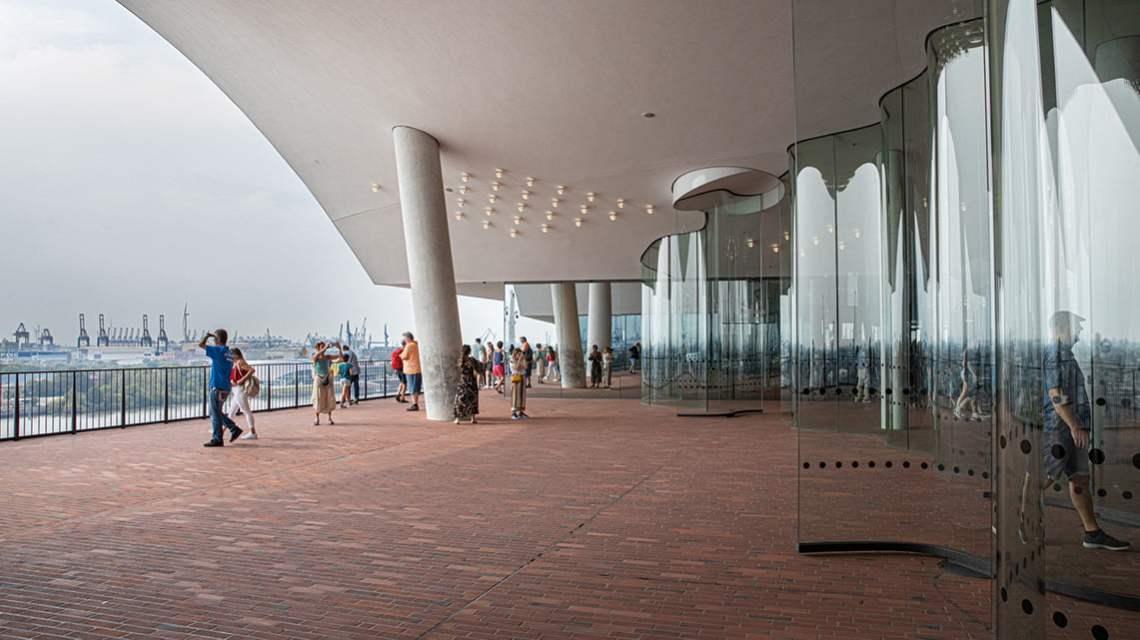 inside the Elbphilharmonie