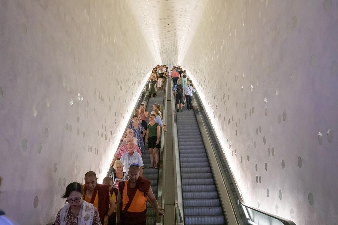 Inside the Building elbphilharmonie