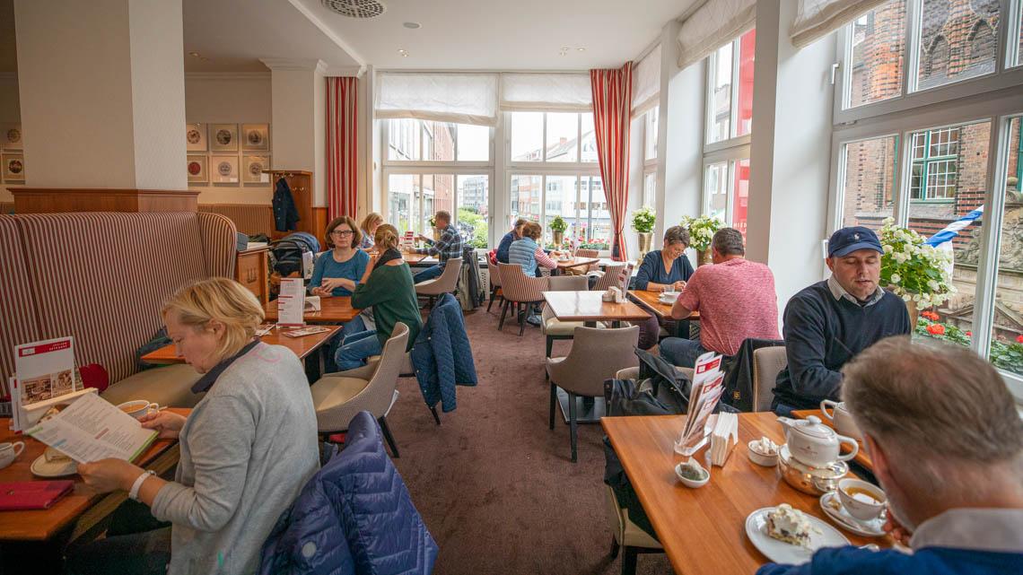 Check out the Niederegger Marzipan Café