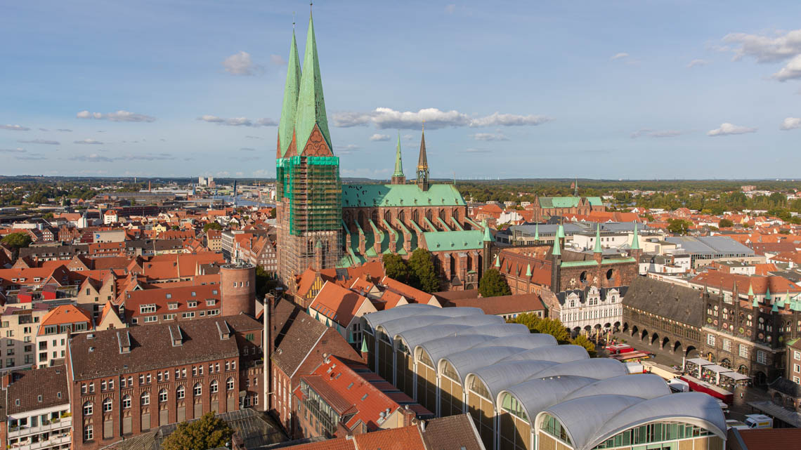 St mary's church in Lubeck, Germany