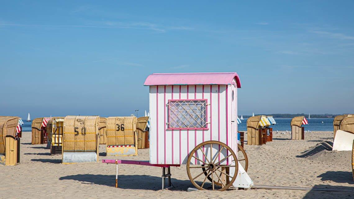 Cool wagon on the beach