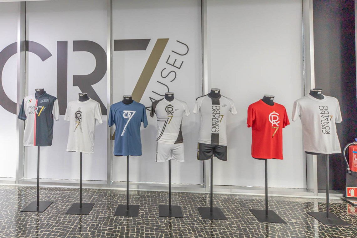 Shopping at the CR7 Museum