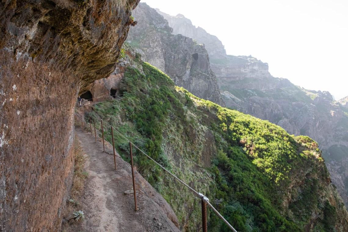 Peak to Peak walk in Madeira