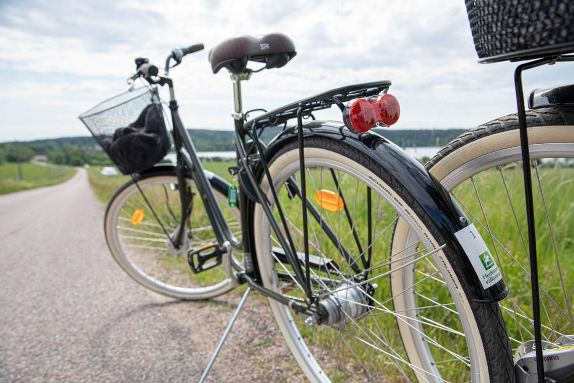 The bikes we rented in stjernsund