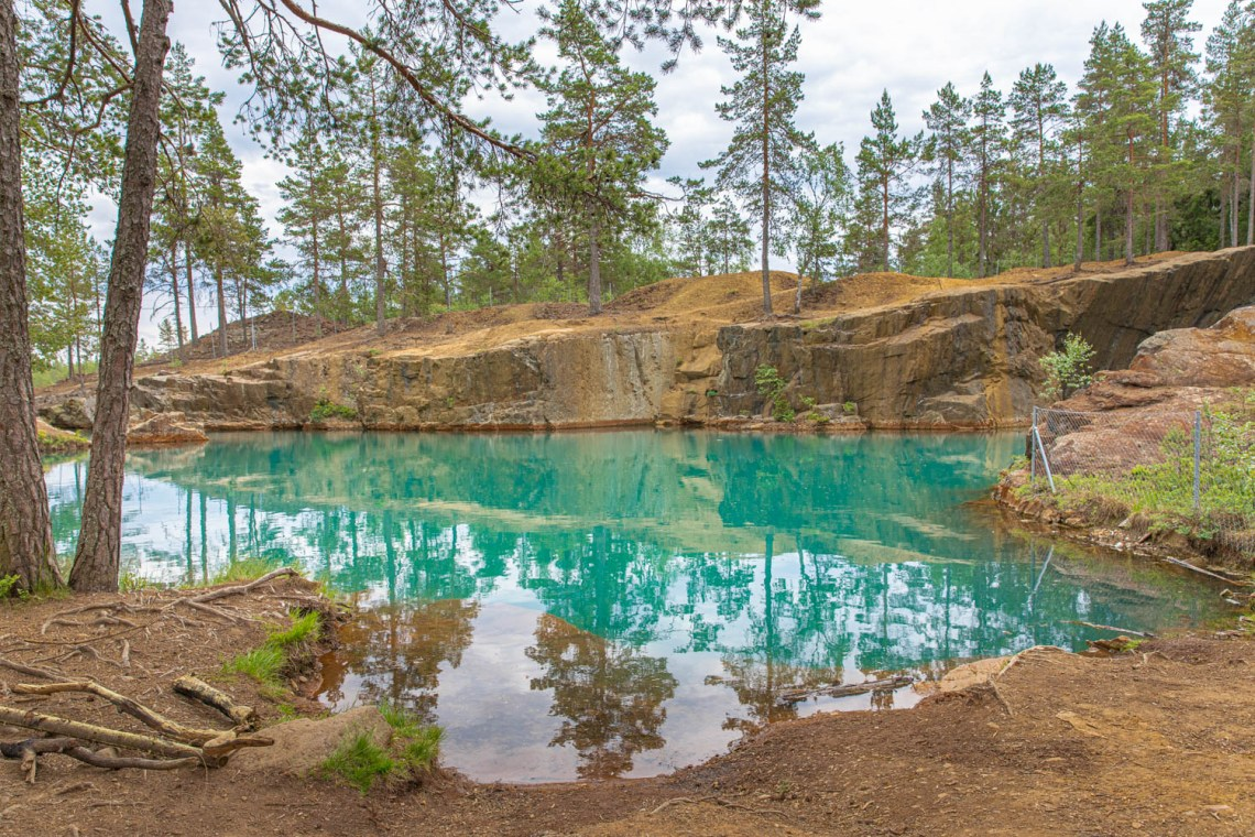 Ostra Silvberg - An old silver mining cave